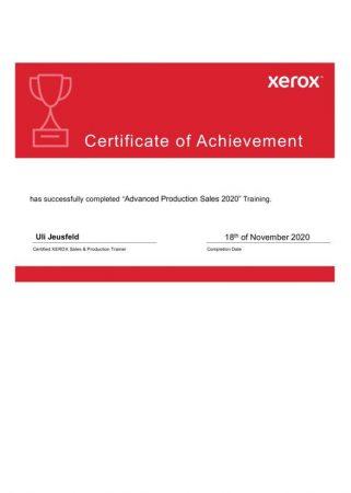 Xerox Achievement